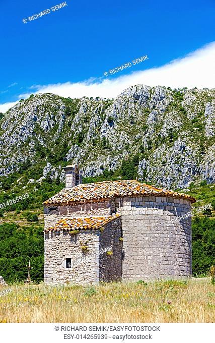 Chapel Notre-Dame de Gratemoine, Seranon, Provence, France
