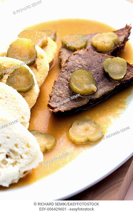 znojemska beef roast (Czech cuisine)