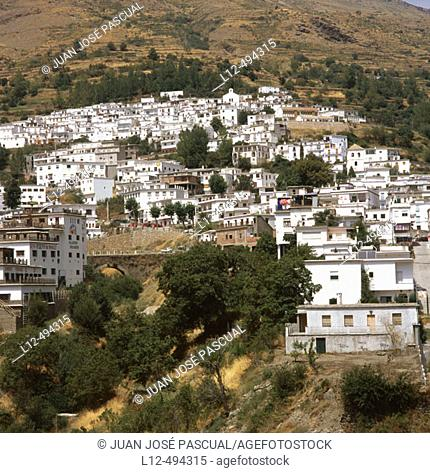 Trévelez, Alpujarras. Granada province, Andalusia, Spain