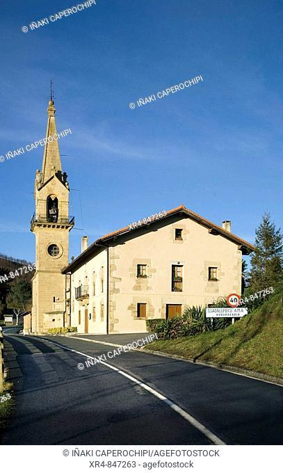 Guadalupe chapel, Fuenterrabia (Hondarribia), Guipuzcoa (Gipuzkoa), Basque Country, Spain
