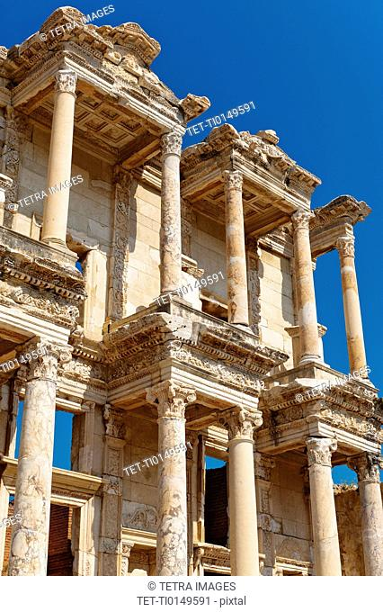 Turkey, Ephesus, Library of Celsus