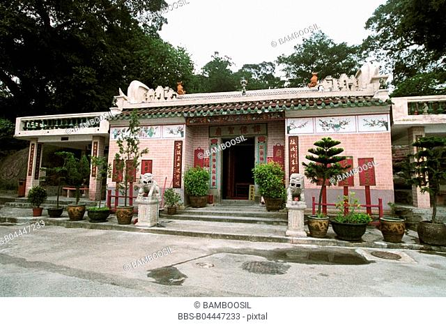 Tan's holy temple in Macao, Macao special administration region of People's Republic of China