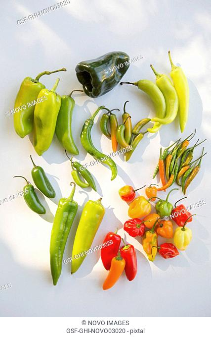 Assorted Sweet and Hot Peppers