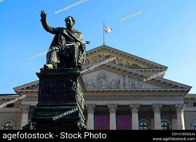 Münchner Staatsoper und Max