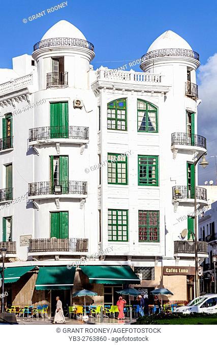 Spanish Colonial Architecture (The Ensanche), Tetouan, Morocco