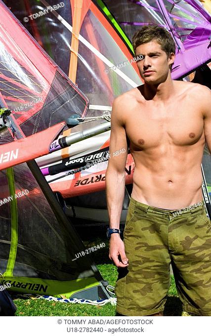 windsurf hot male