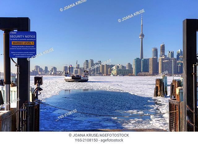 Toronto Island ferry, Toronto, Ontario, Canada