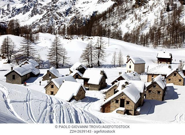 Alpe Devero, Ossola Valley, VCO, Piedmont, Italy