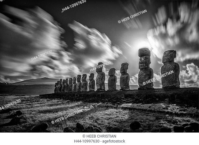 South America, Chile, Easter Island, Rapa Nui, south pacific, UNESCO, World Heritage