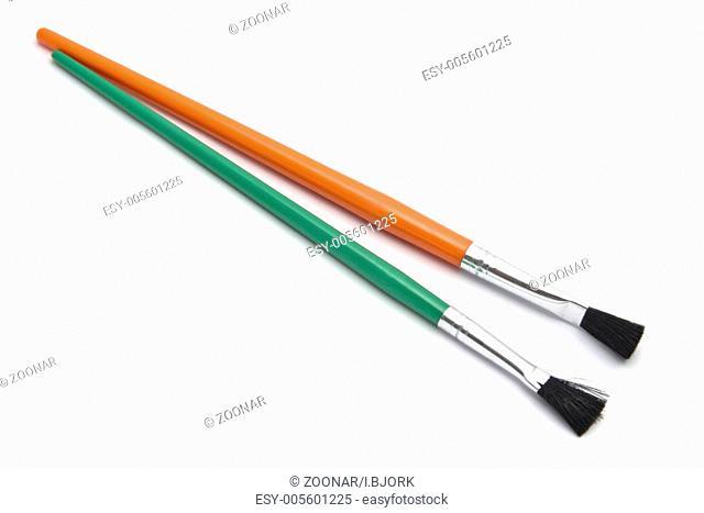Colorful paintbrushes