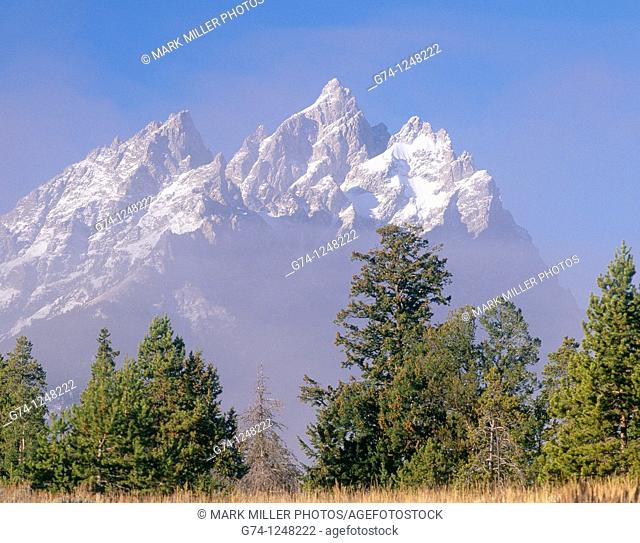 The Tetons -Cathedral Group-, Grand Teton National Park, USA