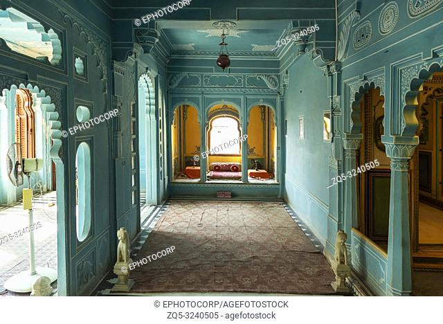 Zenana Mahal or queen's chambers, City Palace, Udaipur, Rajasthan, India