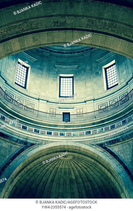 National Pantheon, Church of Santa Engracia, Interior, Lisbon, Portugal