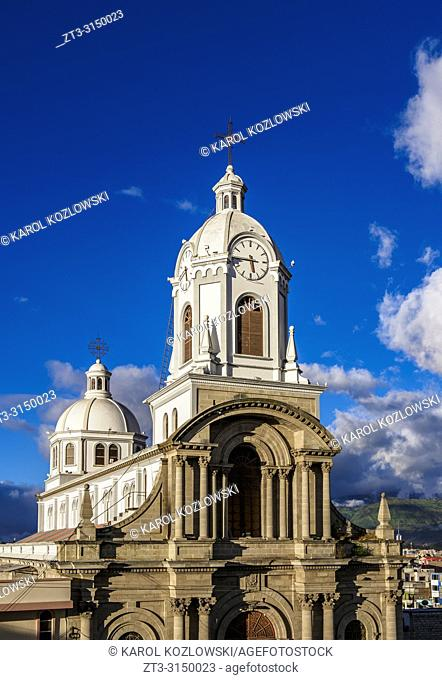 Church of San Antonio, Riobamba, Chimborazo Province, Ecuador