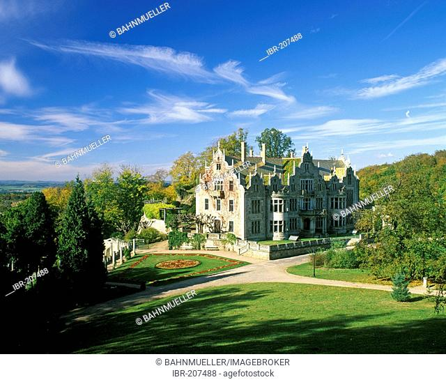 Bad Liebenstein Thuringia Altenstein castle summer residence of the dukes of Meiningen built 1887