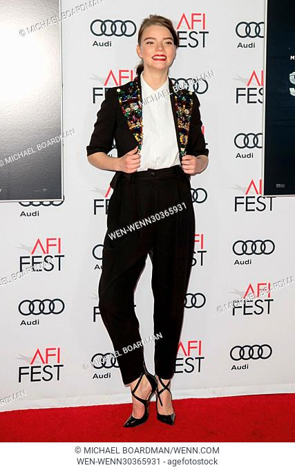 AFI FEST 2016 Presented by Audi - Screening of 'Split' at TCL Chinese Theatre Featuring: Anya Taylor-Joy Where: Hollywood, California