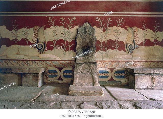 Greece - Crete - Knossos. Palace of Minos