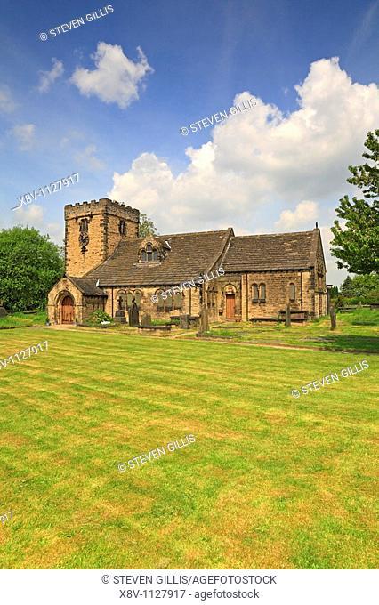 St Peter's Church, Hartshead, West Yorkshire, England, UK