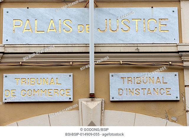 Saint Tropez, Palais de justice