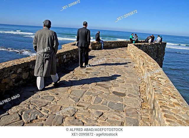 Maritime walk, Assilah, Morocco