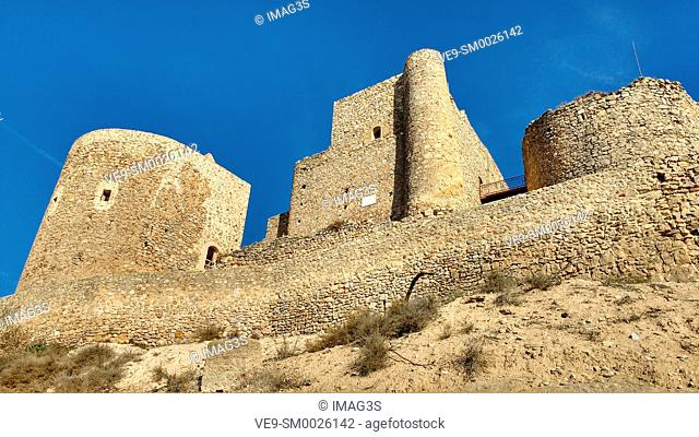 Castle of the Knights of St. John of Jerusalem, Consuegra, Toledo province, Route of Don Quixote, Castilla-La Mancha, Spain, Europe