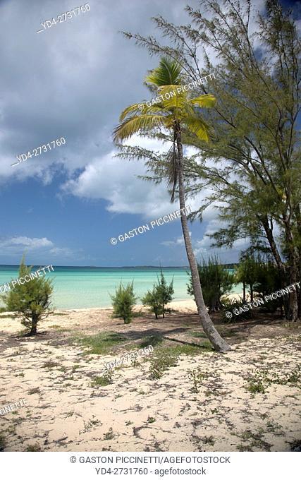 Ten Bay beach, Eleuthera island, Bahamas