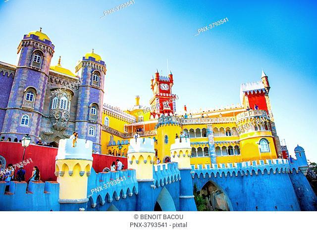 Pena National Palace, Sintra, Lisbon area, Portugal