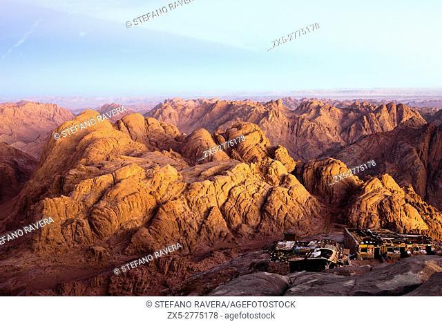 Sinai Mountains - Sinai Peninsula, Egypt