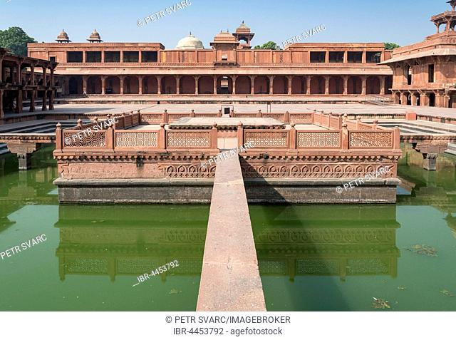 Anup Talao Pool, Fatehpur Sikri, India