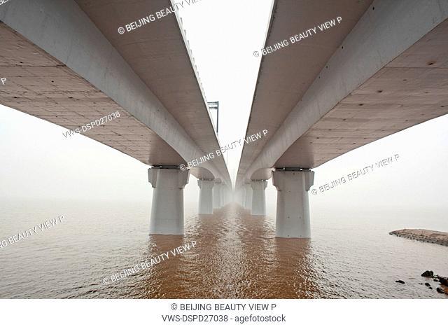 The Qiangtang six Bridge,Hangzhou city,Zhejiang province,China