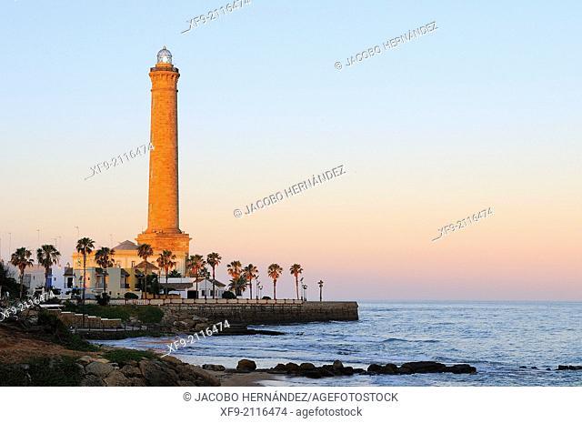 Lighthouse of Chipiona.Cádiz province.Andalusia.Spain