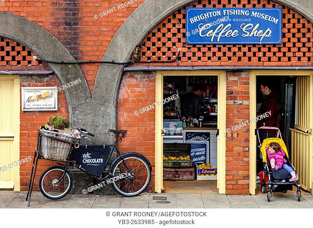 Brighton Fishing Museum Coffee Shop, Brighton, Sussex, UK