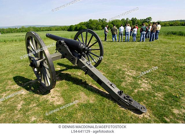 Canon at Gettysburg National Battlefield Park and Cemetary Pennsylvania PA