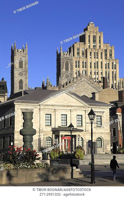 Canada, Quebec, Montreal, Place Royale,