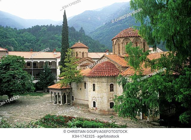 Bachkovo Monastery, Rhodope Mountains, Bulgaria, Europe
