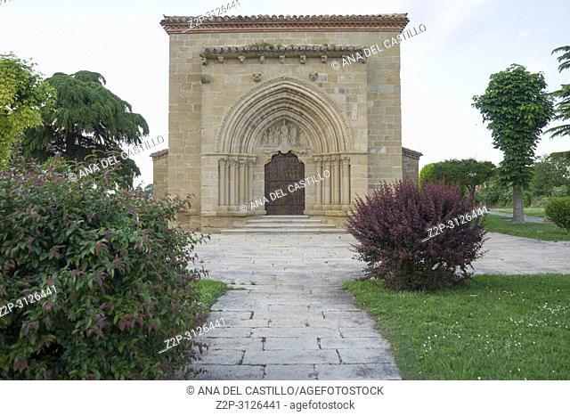 Our Lady of La Antigua Church in Banares La Rioja Spain