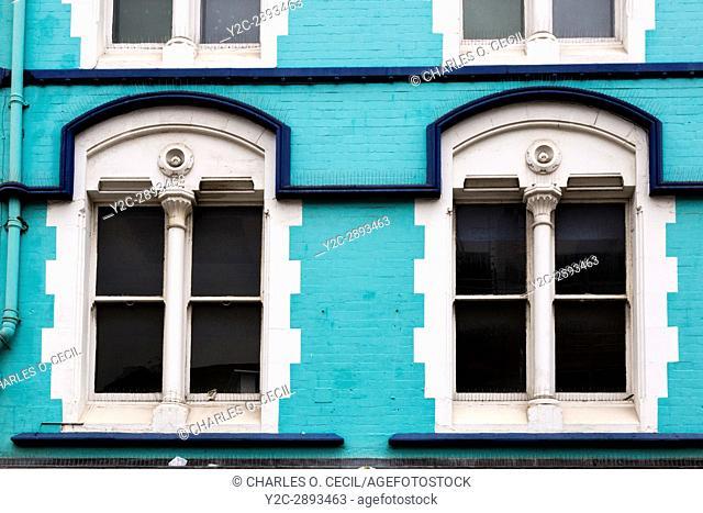 Newcastle-upon-Tyne, England, UK. Northumberland Street Windows