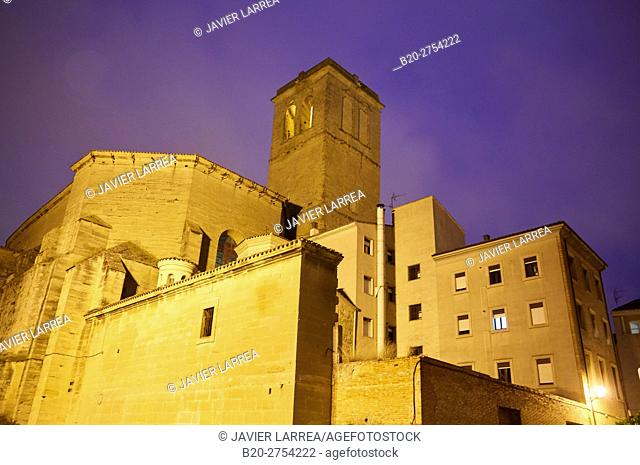 Parroquia de Santiago Real Church, Logroño, Way of Saint James, La Rioja, Spain, Europe