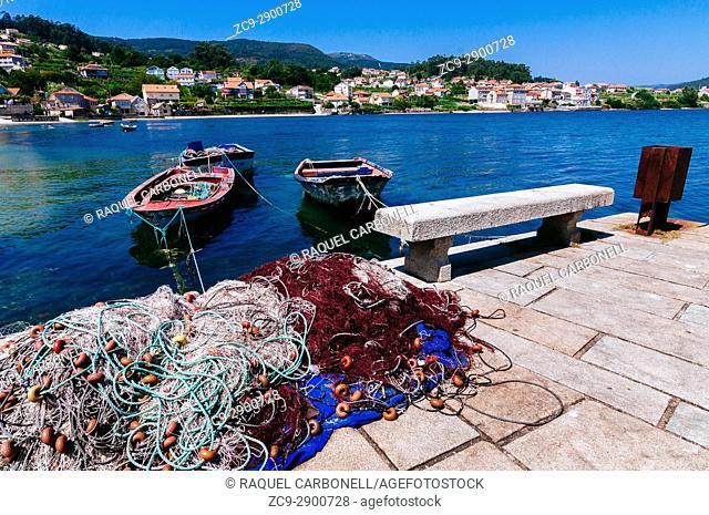 Port, Combarro, Galicia, Spain