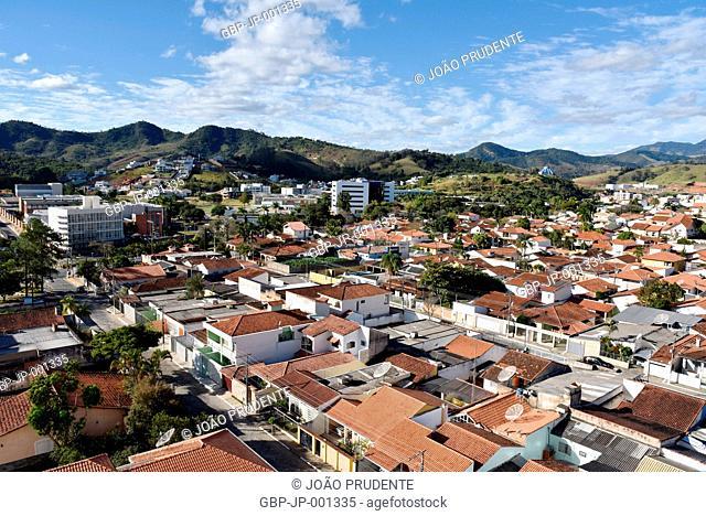 Panoramic view, UNIFEI, Federal University of Itajuba, 2017, Itajuba, Minas Gerais, Brazil