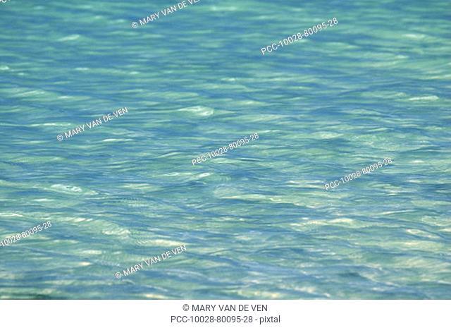 Blue green ocean water texture