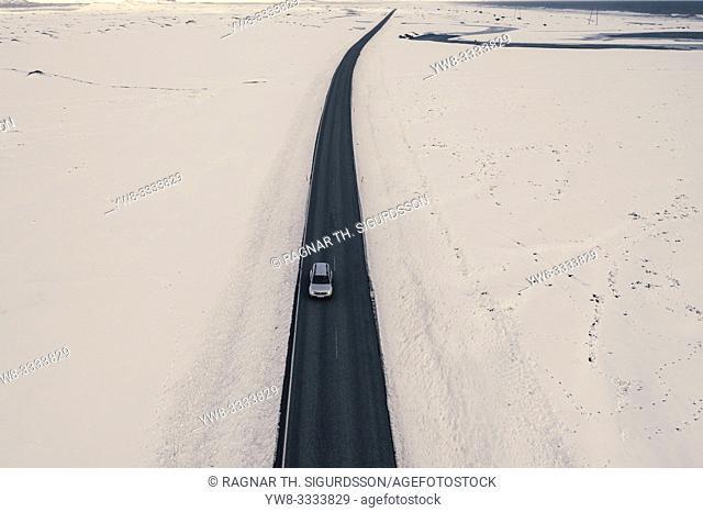 Ring Road or Route One, Vatnajokull National Park, Iceland