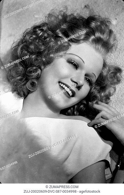 1936, Film Title: RIFFRAFF, Director: WALTER RUBEN, Studio: MGM, Pictured: JEAN HARLOW, GEORGE HURRELL. (Credit Image: SNAP/ZUMAPRESS.com)