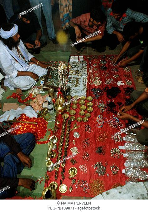 A fair or mela set up around the shrine of Fakir Lalan Shah Kushtia, Bangladesh October 2010