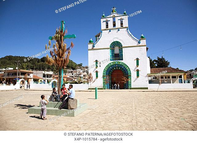 Church of San Juan Chamula, Chiapas Mexico