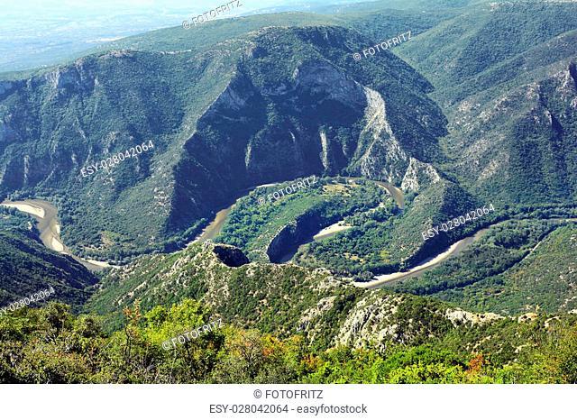 Greece, Nestos gorge near Xanthi