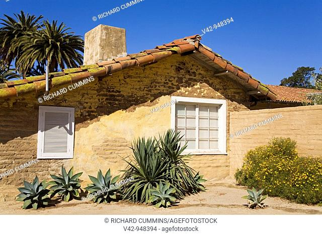 Historical Museum, Santa Barbara, California, USA