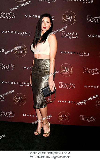 People's 'Ones To Watch' event at NeueHouse Hollywood in Los Angeles, California. Featuring: Trace Lysette Where: Los Angeles, California