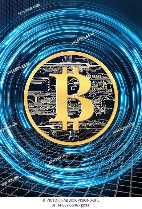Bitcoin, computer artwork