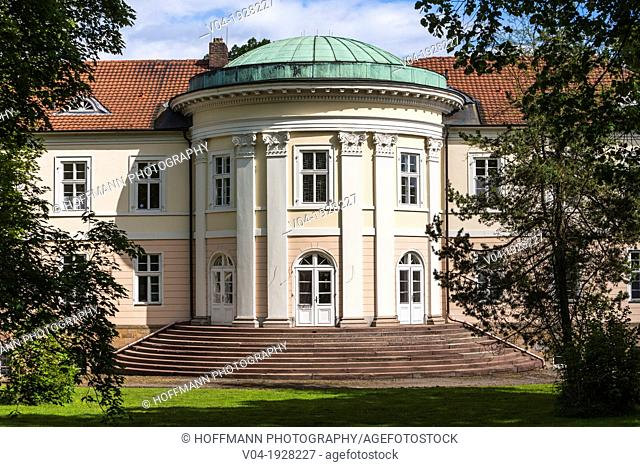 The picturesque Beberbeck castle, Hofgeismar, Hesse, Germany, Europe